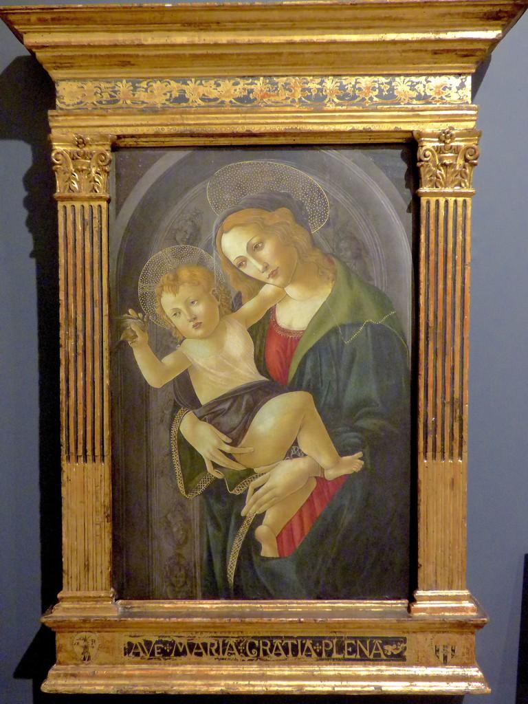 La Virgen y el Niño en un nicho, Sandro Botticelli   © Luisalvaz/WikiCommons