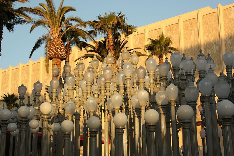 Chris Burden, 'Urban Light', 2008 | © LACMA / WikiCommons