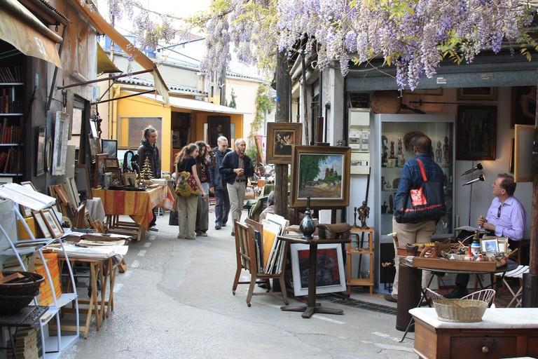 The Marché aux Puces de Saint-Ouen │© ParisSharing