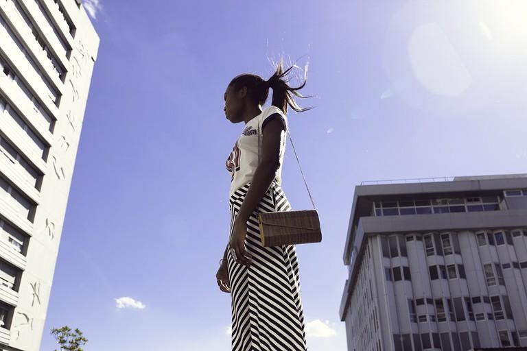 Promotional shot of Noüne handbag │ Courtesy of Noüne