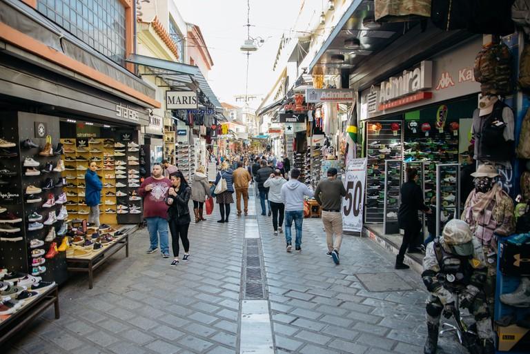 Monastiraki Flea Market-Athens-Greece