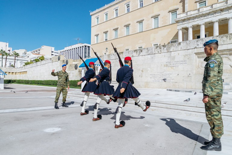 NATIONAL GUARD-ATHENS-GREECE