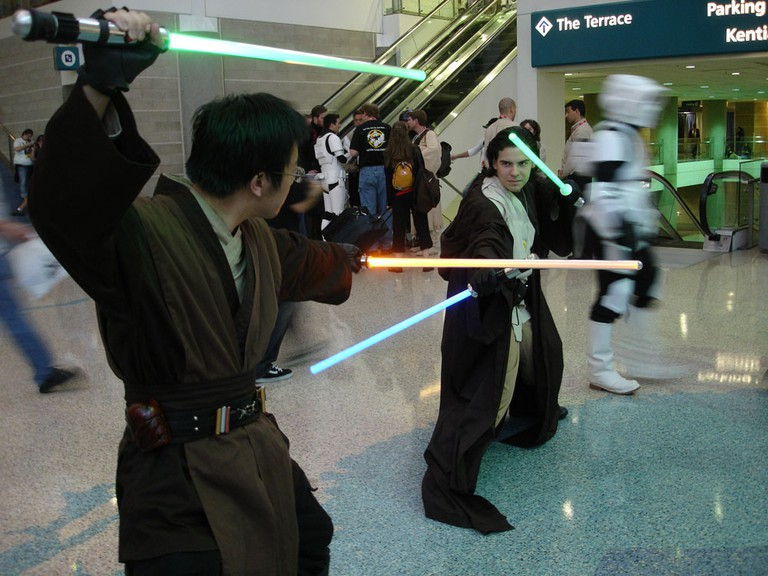 Lightsabers © Pop Culture Geek/Wikipedia