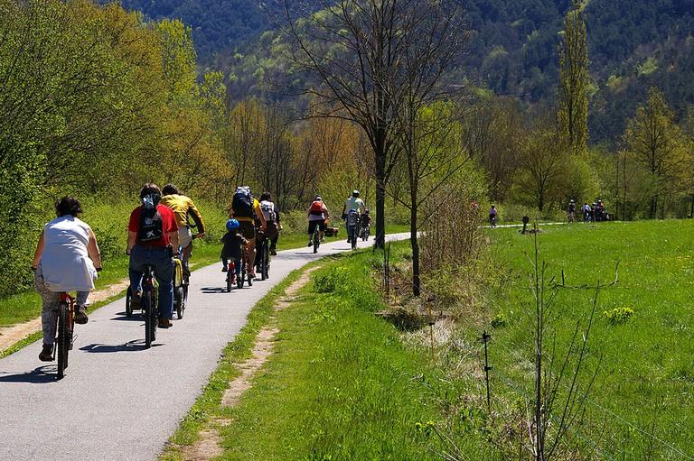 Ruta del Ferro Ripollès, cycling in Girona | ©1997 / Wikimedia Commons
