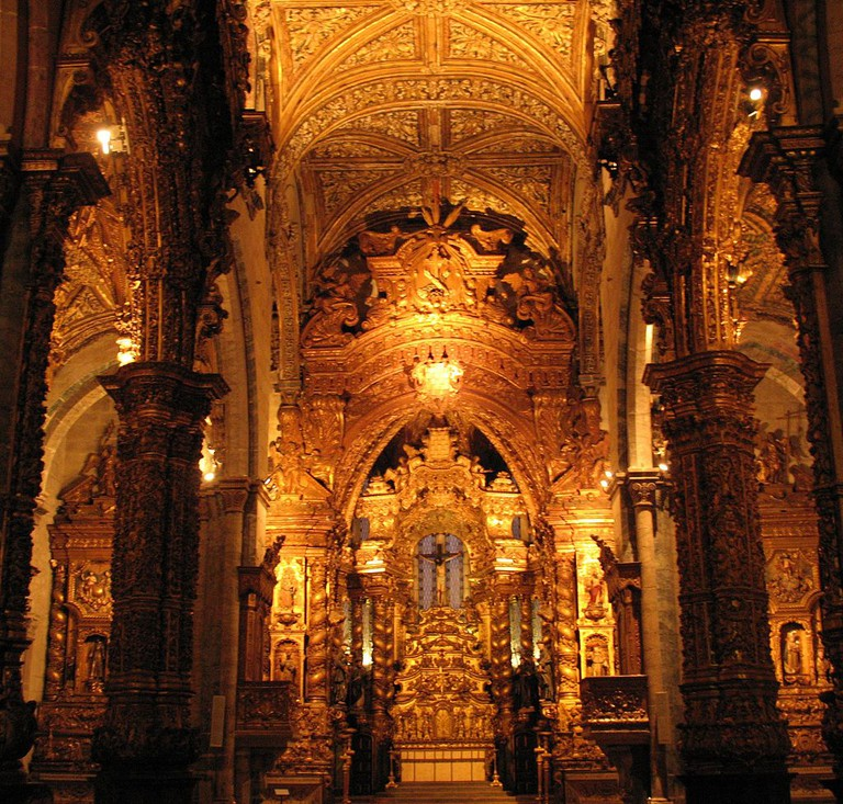 Church of Saint Francis in Porto, Portugal © Asmodaeus / Wikimedia Commons