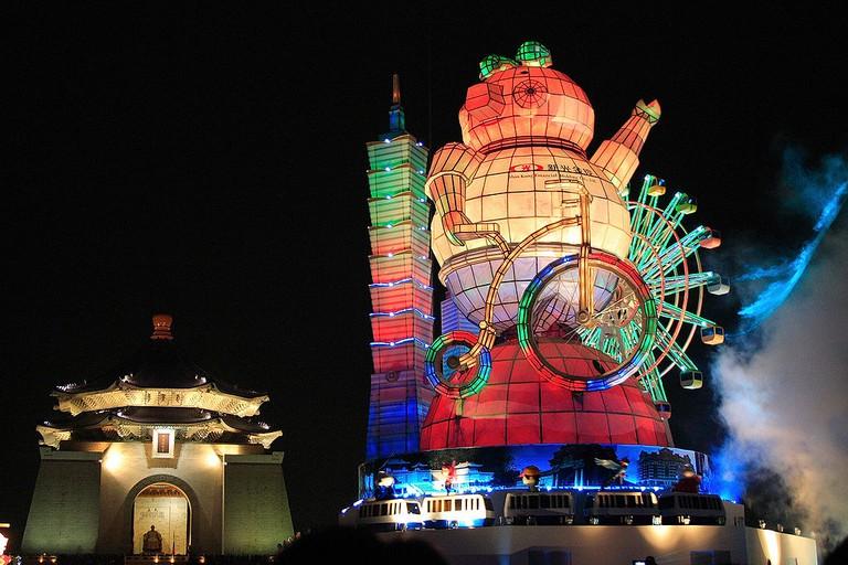 Main Lantern in Taipei Lantern Festival 2007 | © vicjuan / Wikimedia