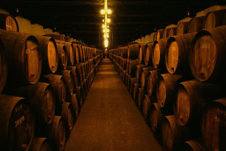 Taylor's wine cellars © Jairo / Wikimedia Commons