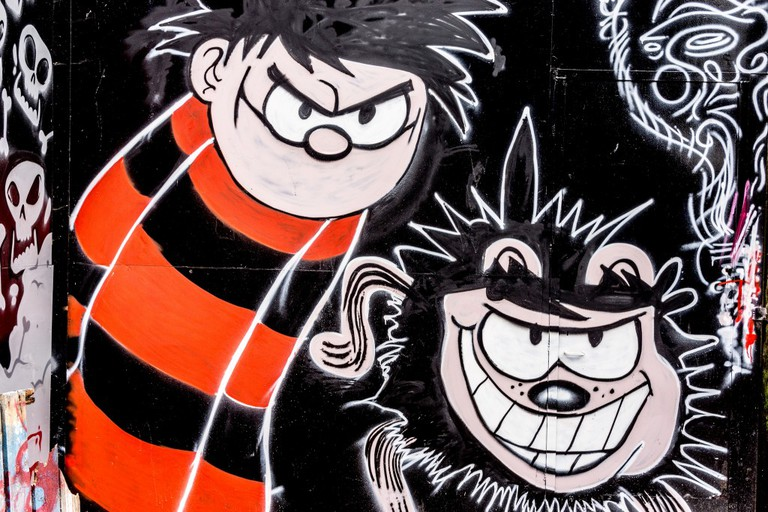 Dennis The Menace And Gnasher | © William Murphy/Flickr