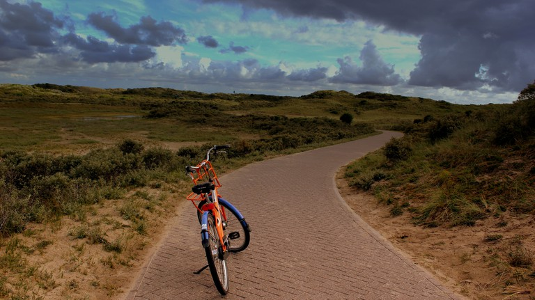 A cycle path in Zuid-Kennemerland | © calflier001/Flickr