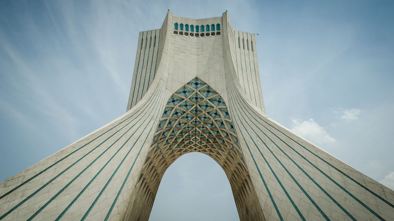 Azadi Tower | © Chris Blackhead / Flickr