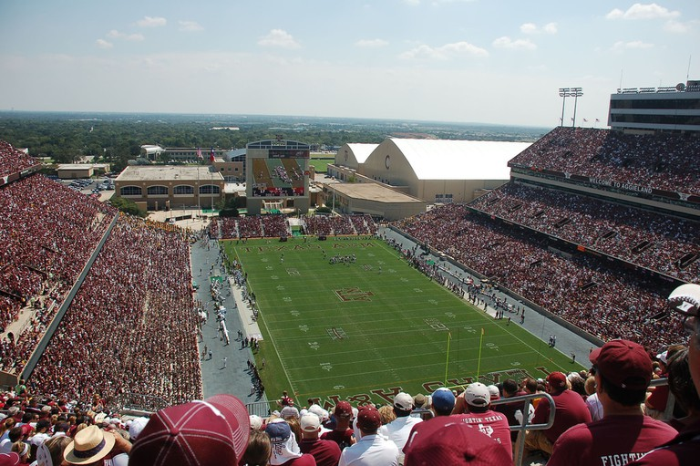 Kyle Field at Texas A&M University © Patrick Boyd