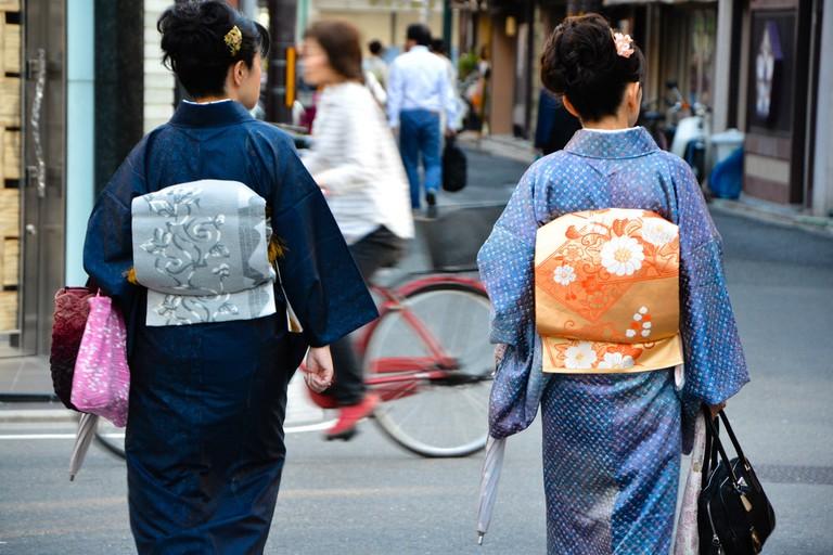 Women in kimono | © 2benny/Flickr