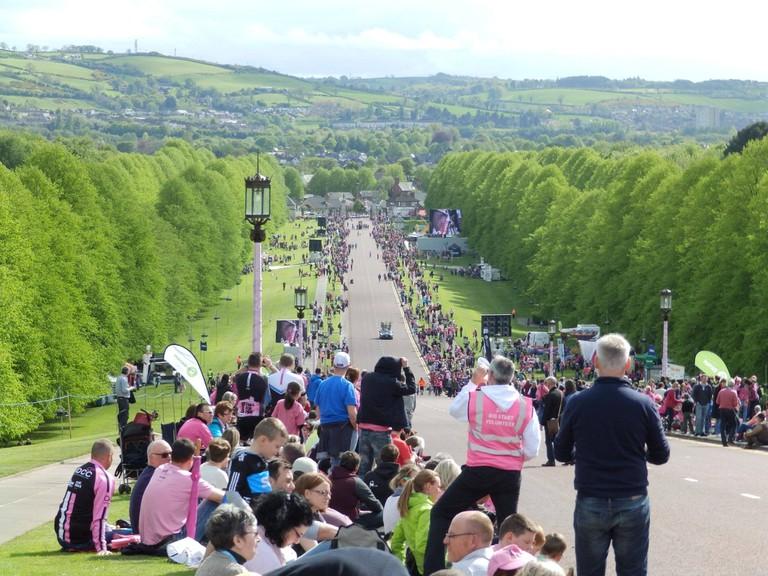 Giro d'Italia at Stormont Hill | © Bishib70 / Flickr