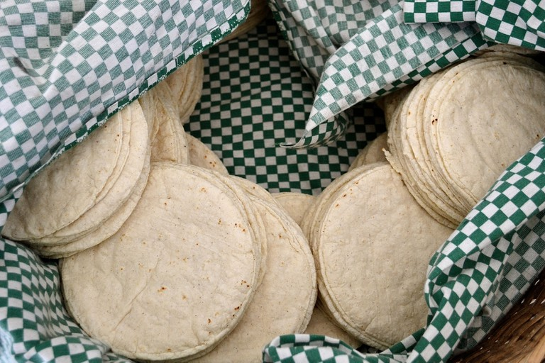 Corn tortillas | © David Boté Estrada/Flickr