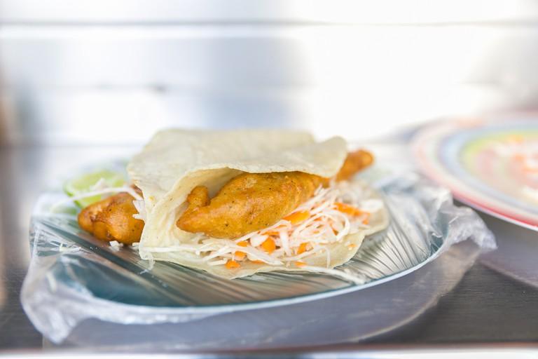 Prawn tacos | © City Foodsters/Flickr