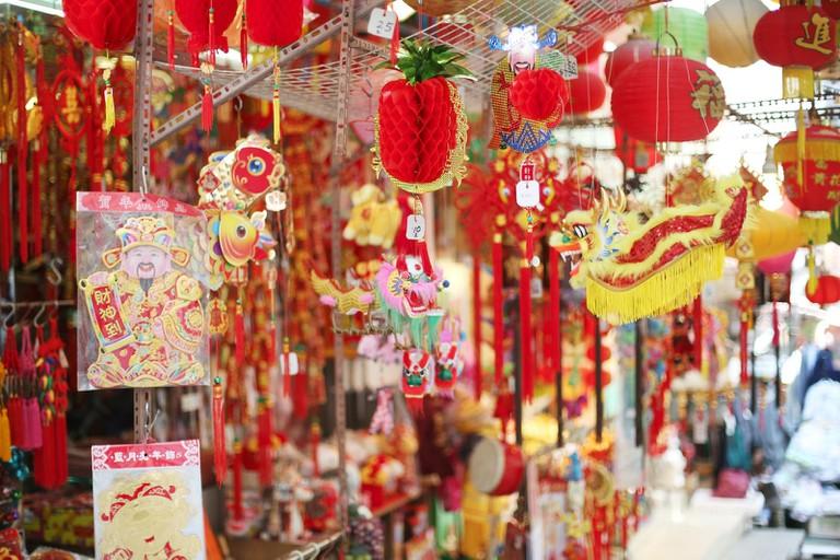 Chinese New Year decorations   ©Geneva Vanderzeil/Flickr
