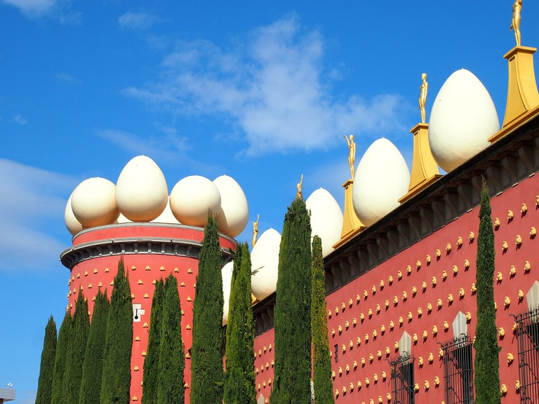 The Dalí theatre-museum in Figueres | © momo