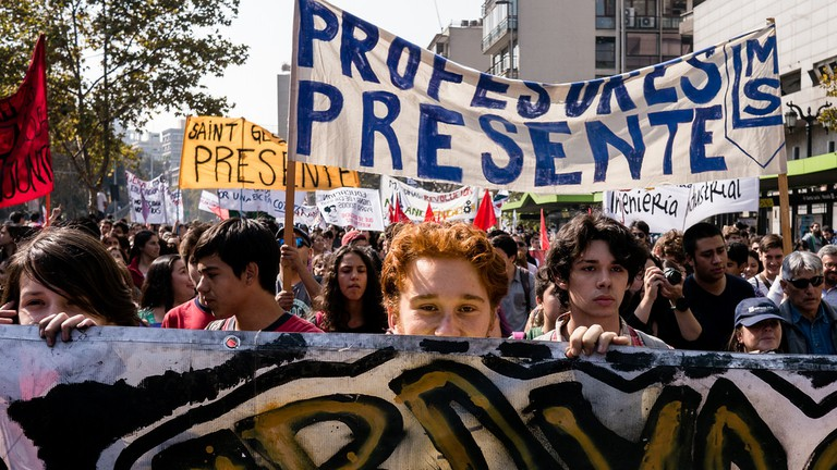 CL Society 440: Chilean student protest © Francisco Osorio