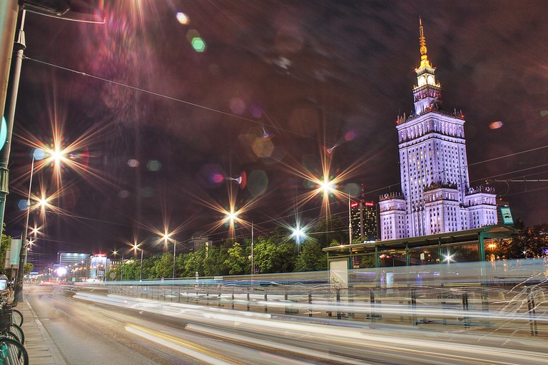 Palace of Culture and Science, Warsaw © Lukas Plewnia / Flickr
