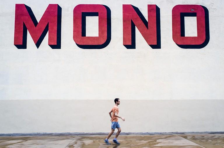 Jogging in Badalona © Enric Fradera