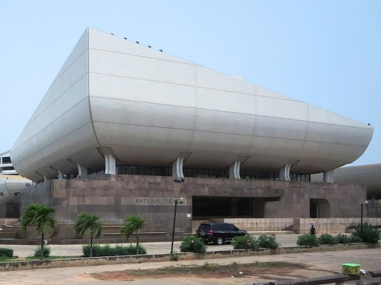 National Theatre Accra © David Stanley / Flickr