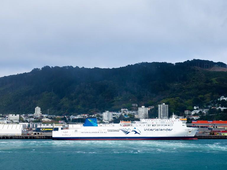 Interisland Ferry, Wellington Harbour