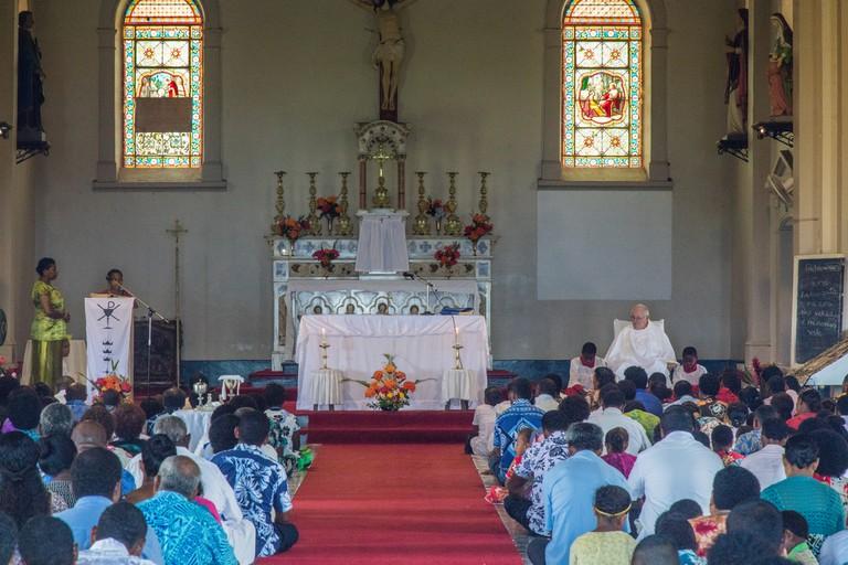 Fijian Church | © Arnie Papp / Flickr