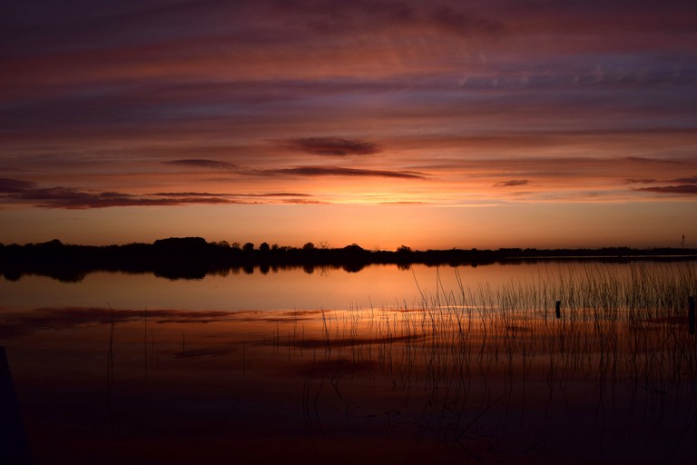 Sunset on Lough Ree, Co. Westmeath | © Bob Fox/Flickr