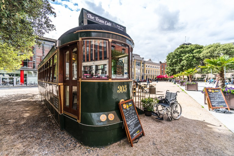 The Tram Cafe, Wolfe Tone Square | © William Murphy/Flickr