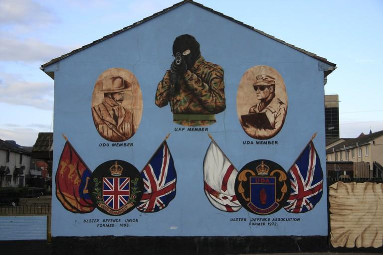 Unionist Mural | © Sam Wennerlund/ Flickr