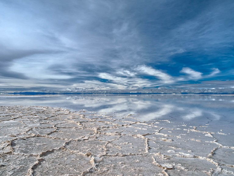Reflections in the rainy season at the Salar de Uyuni   © Marco Verch/Flickr
