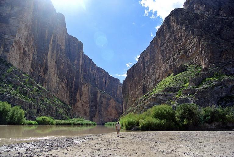 Rio Grande at Santa Elena | © Karen and Brad Emerson