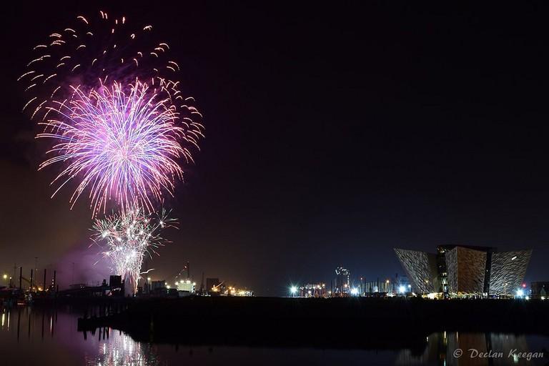 Halloween Fireworks Show | © Declan Keegan/ Flickr