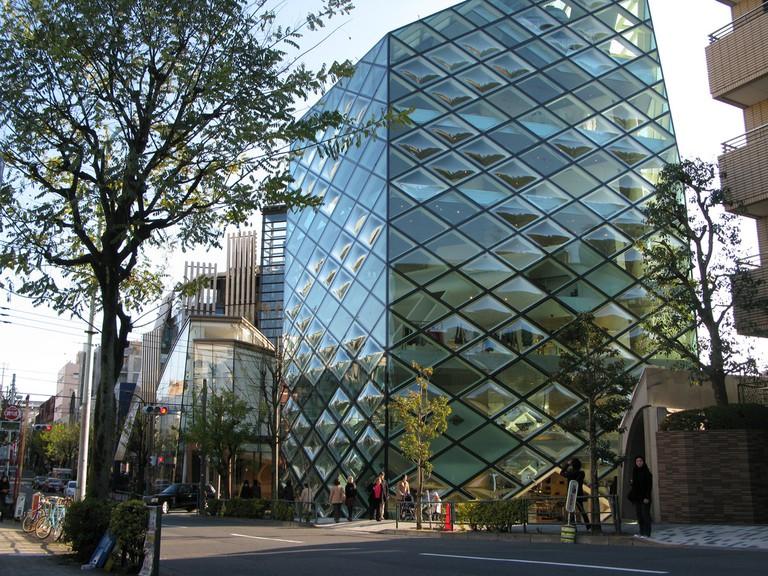 Flagship Prada store in Tokyo   © Jason Bush / Flickr