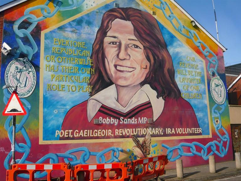 Bobby Sands Mural | © Criag Murphy/ Flickr