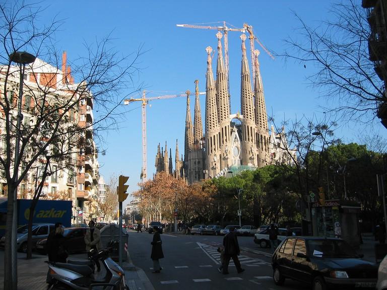 The Sagrada Familia   © Pierre Phaneuf