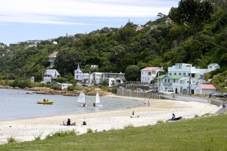 Scorching Bay, Wellington | © Brad Fults/Flickr