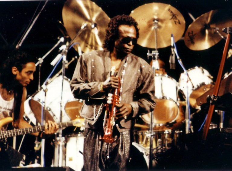 Miles Davis played at the Nice Jazz Festival in 1989 | © ohjaygee/flickr
