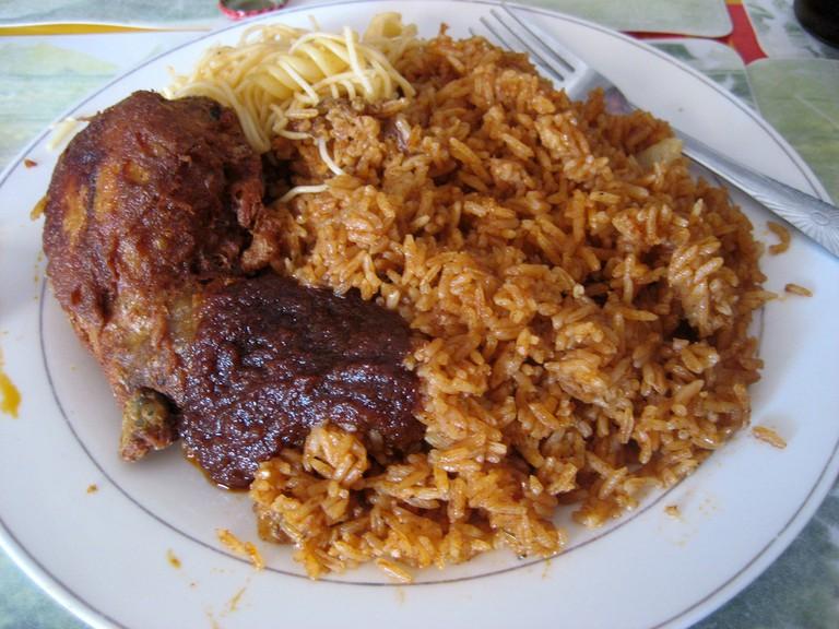 Jollof Rice © sharon mckellar / Flickr