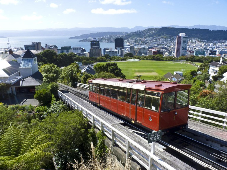 Cable car, Wellington | © John Lawrence/Flickr