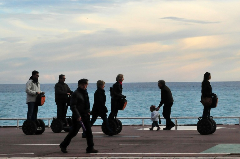 The segway tours are a great alternative to walking around Nice | © m.louis/flickr