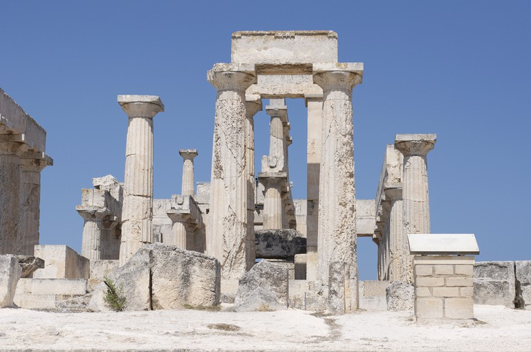 Temple of Aphea in Aegina │©Aleksandr Zykov/Flickr