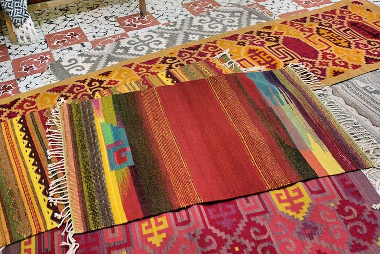 Tapetes, Teotitlán | © Byron Howes/Flickr