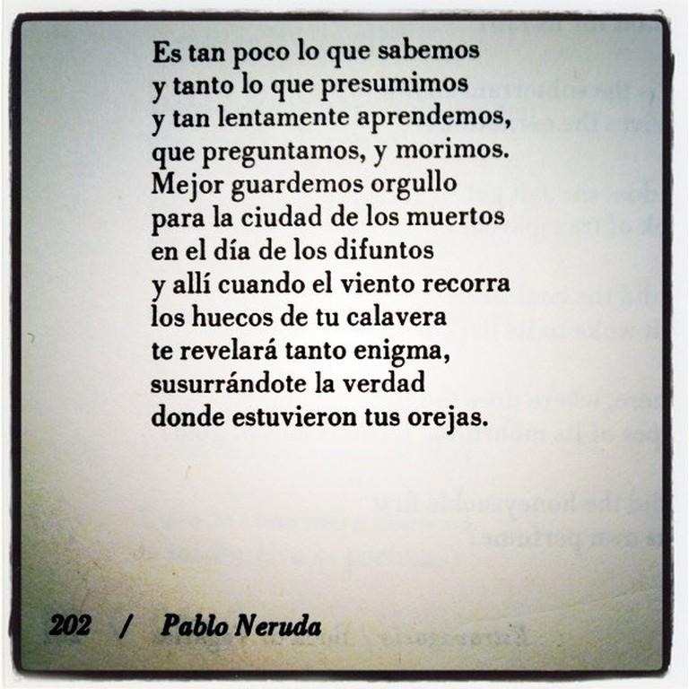 Neruda © Pablo Manriquez