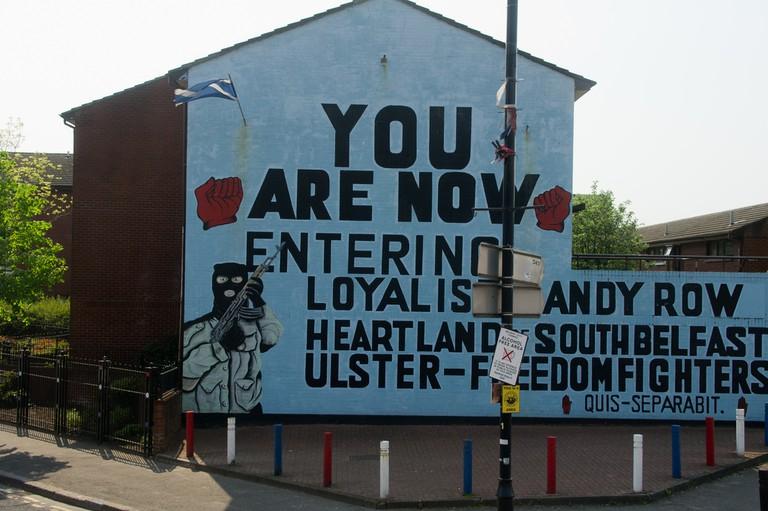 Loyalist Mural | © William Murphy/ Flickr