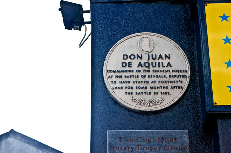 Kinsale plaque to Don Juan De Aquila | © William Murphy/Flickr
