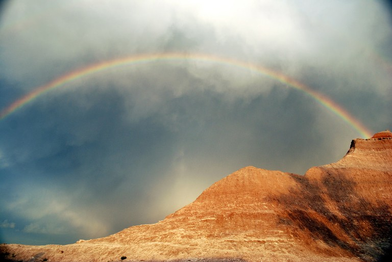 Rainbow | Public Domain | Badlands Nation Park/Flickr