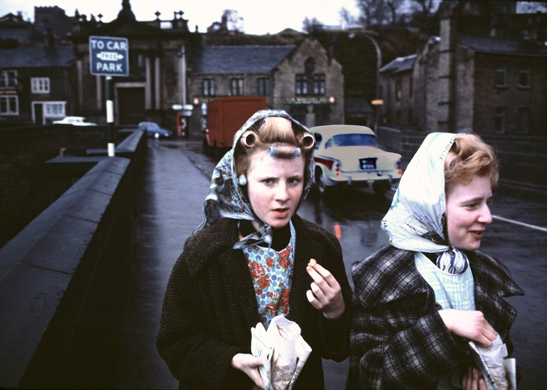 Curlers and Chips, Yorkshire, 1965, Sunday Times Magazine