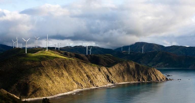 Makara Wind Farm | © mrtrappit/Flickr
