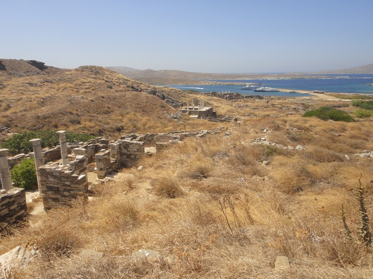 View of the sea from Delos │© Alex Healing/Flickr